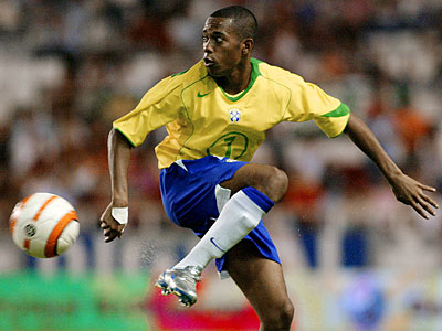 Robinho Footblall Player